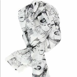Accessories - Marilyn Monroe Pop Art Sheer Scarf
